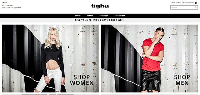 Tigha responsive Web Design